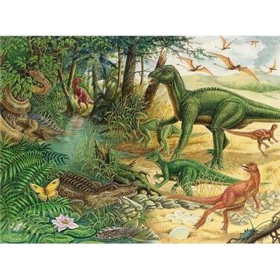 Ravensburger 05504 - www Dinosaurierwelt (Wieso? Weshalb? Warum?) - 79 Teile Puzzle