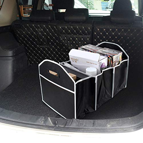 FNMYH Caja de almacenamiento plegable, bolsa de herramientas multiusos para cajuela de vehículos