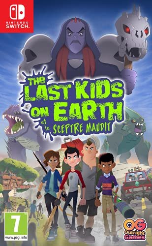 The Last Kids On Earth et Le Sceptre Maudit...