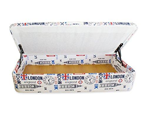 Naturconfort Canapé tapizado Apertura Lateral 105x190cm