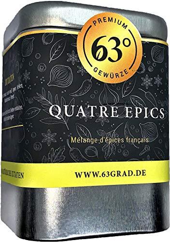 63 Grad - Quatre Epices - Französische Gewürzmischung (70g)