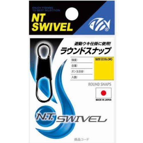 NTスイベル(N.T.SWIVEL) ラウンドスナップ クロ #2