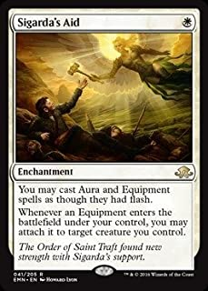 Magic: the Gathering Sigarda39;s Aid (041/205) - Eldritch Moon