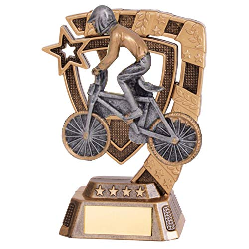 Resin Euphoria 130mm BMX Trophy With Free Engraving up to 45 Letters