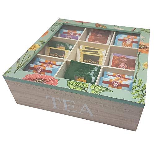 Vintage Teebox aus Holz