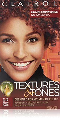 Clairol Professional Textures and Tones Permanent Hair Color, Ruby Rage