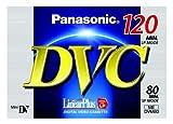 Panasonic AY-DVM80FE Mini-DV Digitale Videokassette (80min, Linear Plus) -