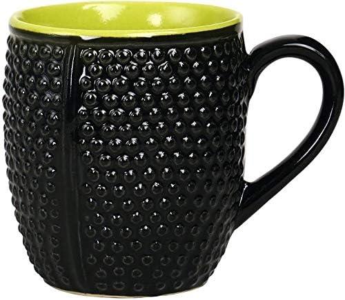 Caffeine Ceramic 限定タイムセール Handmade 期間限定今なら送料無料 Black Green Set Coffee 1 of Mug