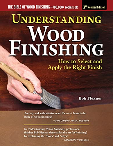 Understanding Wood Finishing, 3rd Revised Edition: How to Select and Apply the Right Finish (Fox Chapel Publishing) Practical & Comprehensive; 350 Photos, 40 Reference Tables & Troubleshooting Guides