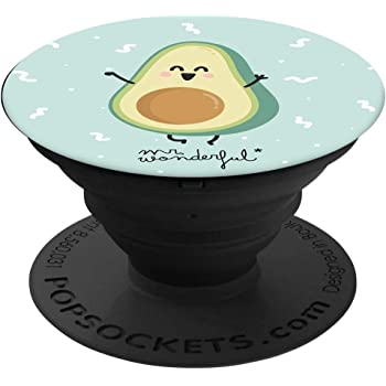 Tribe PopSockets Avocado - Supporto e Impugnatura per Smartphone e Tablet Originale Mr Wonderful, PSR03803