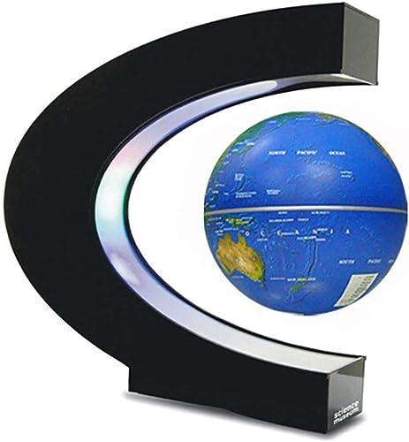 XAJGW Magnetschwebebahn, Hochrotations-C-Form Magnetaufh ung Magnetschwebebahn mit LED-Lichtern für das Lernen der Ausbildung, die Demo-Büro-Inneneinrichtung-Schreibtisch-Dekoration unterrichtet