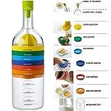 Locisne 8 in 1 Küche-Werkzeug,Plastikbehälter-Flasche Küche Kochen-Werkzeuge Küche...