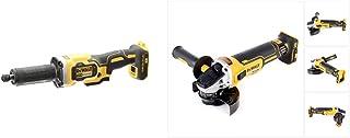 Dewalt DCG426N-XJ DCG426N-XJ-Amoladora recta escobillas XR 18V sin cargador/batería, 18 V, Yellow/Black, 125mm & DCG405N 1...