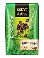 UCC 香り炒り豆キリマンジァロ ブレンド(豆) 270g袋×6袋入×(2ケース)