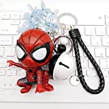 Película de moda Spider Keychain Man   Hero Homecoming Car Llavero colgante...