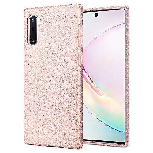Spigen Liquid Crystal Glitter Designed for Samsung Galaxy Note 10 Case (2019) - Rose Quartz