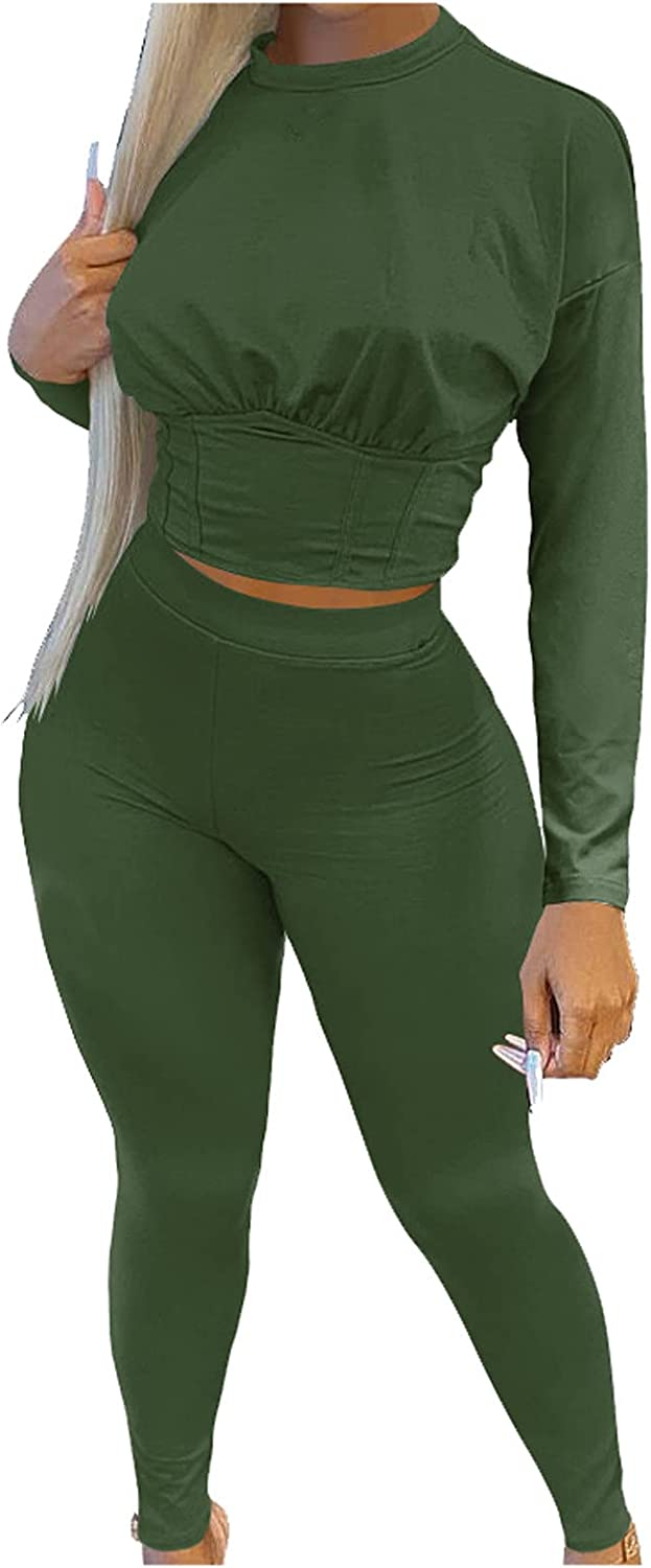 ayaso Women's Fashion Autumn and Winter Solid Colour Sports Waist-Skimming Suit Fashion Casual Two-Piece