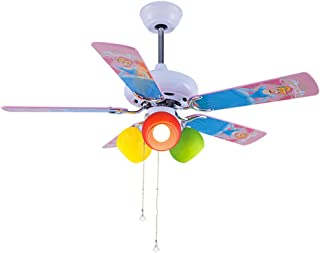 Children Room Ceiling Fan Light 42u0027u0027 Decorative Ceiling Fan With Colorful  Wooden Blade 3