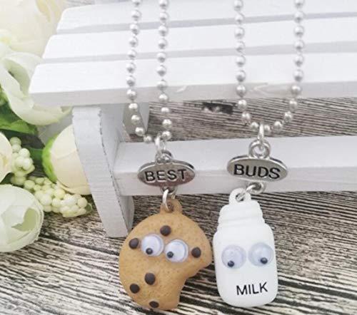 Halskette Bester Freund Fast Food Milchkeks Keks Anhänger Perlenkette Halskette Schmuck Geschenk