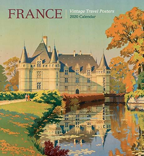 France: Vintage Travel Posters 2020 Wall Calendar