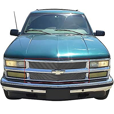 Fits 94-99 Chevy C/K Pickup/Suburban/Tahoe Billet Grille