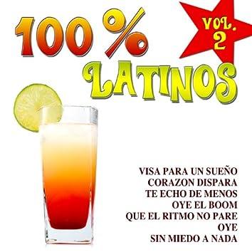 100% Latinos Vol.2