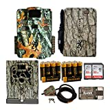 Browning Trail Cameras Strike Force HD Apex 18MP Game Cam with Full Field Kit (Security Box and Cable Lock, Power Pack and Batteries, Cards and Focus Reader)