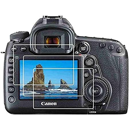 MOTONG LCD Screen protector for Canon EOS 7D,9 H Hardness,0.3mm Thickness,Made From Real Glass Canon EOS 7D Tempered Glass Screen Protector