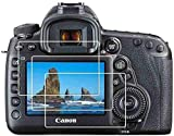 ✪LCD Screen Protector perfectly fit for Canon EOS 1DX Mark1/ Mark2 DSR Camera . Not for other model. Easy to install with 100% bubble-free adhesives, bubble-free installation. ✪9H Hardness - Longer tempering time, which made the screen protector has ...