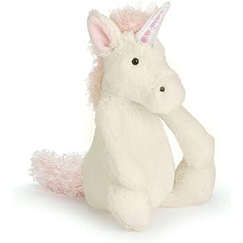 Jellycat Bashful Unicorn Stuffed Animal, Small, 7 inches