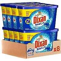 Dixan Detergente en Cápsulas, 14 Dosis, 112 lavados