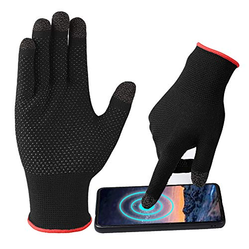 ZEPOHCK Game Gloves, Anti-Sweat Breathable, Touch Finger for Highly...