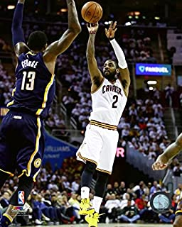 Kyrie Irving Cleveland Cavaliers 2016-17 NBA Playoff Action Photo (Size: 16