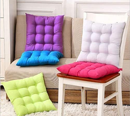 Uteruik Coussin de chaise de jardin, de salle à manger, de bureau, de maison, de salle à manger, de terrasse, de cuisine (couleur aléatoire)