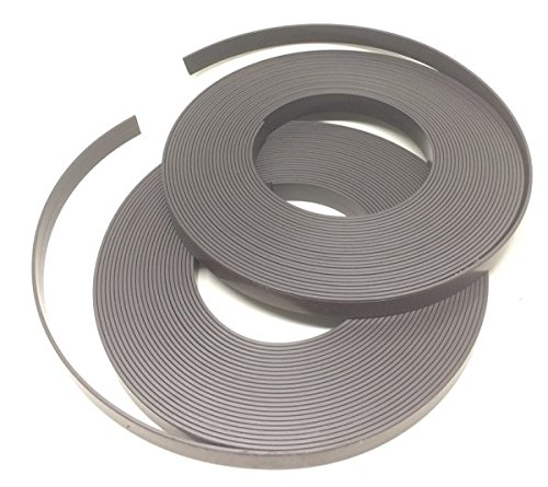 Magnetshop der Sckeyde GmbH Fliegengitter-Magnetband PERMAFLEX® 424 selbstklebend, 12,5 mm x 1,5 mm, 2 x 10 Meter, innerhalb DE