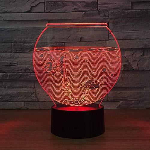 3D nachtlampje bedlampje driedimensionale folie licht aquarium vorm fantoomtafel decoratie vakantie geschenk sfeerverlichting decoratie vakantie geschenk sfeerverlichting licht