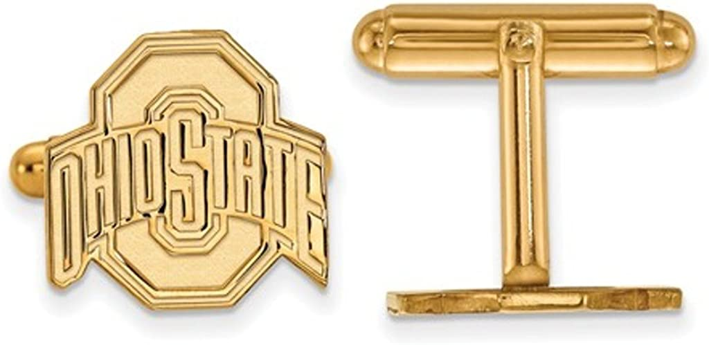 Gold-Plated Sterling Silver 100% quality warranty Ohio State Cu Back OFFicial mail order University Bullet