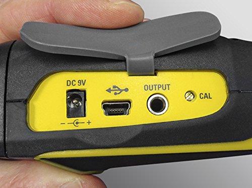 TROTEC 3510005020 SL400 Schallpegel Messgerät mit Datenlogger-Funktion (bis zu 32.700 Messwerte) mit USB-Anschluss und 3,5 mm Klinkenbuchse / Inkl. Kalibrierzertifikat, Mini-Stativ und Transportkoffer - 4