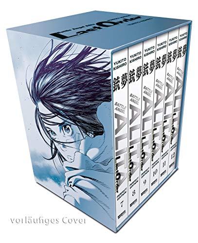 Battle Angel Alita - Last Order - Perfect Edition 7-12 im Schuber mit Extra: Kultiger Cyberpunk-Action-Manga in hochwertiger Neuausgabe