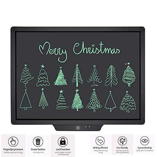 LCD Schrijven Tablet 20 Inch, Elektronische Tekening Schrijven Board Elektronische Grafische Tekening Tablet voor Volwassenen, Handschrift Papier Doodle Pad voor School Office Memo