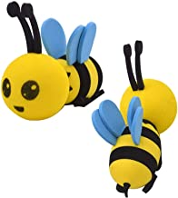 Longsheng Happy Bee Car Decoration Antenna Topper Honey Bumblebee Aerial Ball Antenna Ball Anti-Collision Sticker