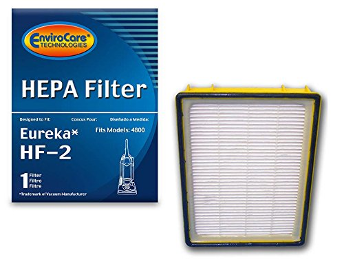 EnviroCare Replacement HEPA Vacuum Cleaner Filter Designed to fit Eureka HF-2 Upright Vacuum Cleaners