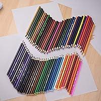 色鉛筆 お絵かきセット子供のための72色プレミアム事前削りオイルベース色鉛筆セット大人の芸術家の芸術の描画 子供のための文房具セット
