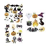 Milisten 3 Unids Halloween Hierro en Parches Niños Pegatina