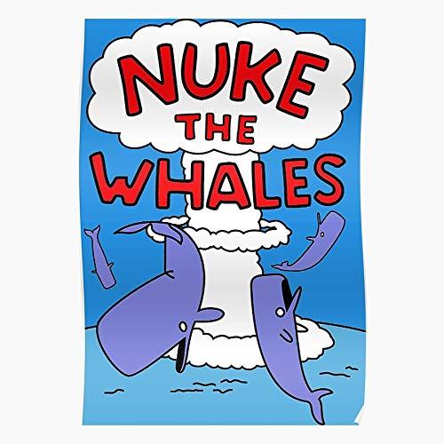 kineticards The Gotta Whales Lisa Nelson Simpsons Muntz Something Nuke Loves | Home Decor Wall Art Print Poster