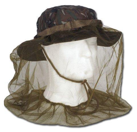 Mil-Tec Chapeau jungle GI américain avec moustiquaire intégrée
