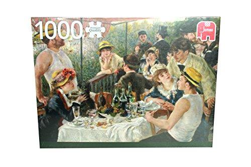 Jumbo 18566 Puzzle Renoir, Das Frühstück der Ruderer, 1000 Teile