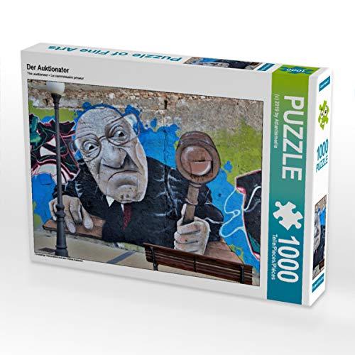 CALVENDO Puzzle Der Auktionator 1000 Teile Lege-Größe 64 x 48 cm Foto-Puzzle Bild von ATLANTISMEDIA