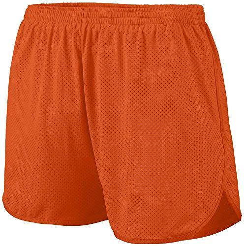 Augusta Sportswear 338 Men's Solid Split Short, Large, Orange