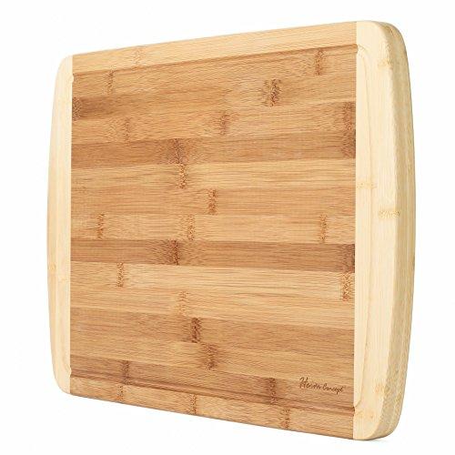 Heim Concept Organic Bamboo Cutting Board (18x12x1) Now $14.10 (Was $32.99)